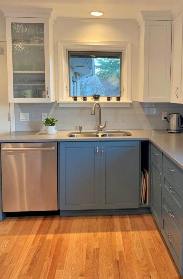 Kitchen remodel in Seattle