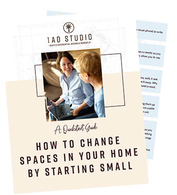 How to Change Spaces in your Home by Starting Small Checklist