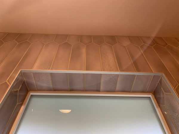 1Ad Studio seattle bathroom remodel tile detail at window