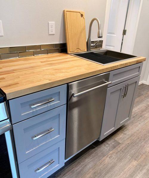 ADU Kitchen sink dishwasher