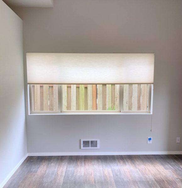 ADU large window natural light